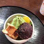 銀の茶房 ぶん福 - ミニパフェ580円