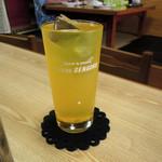 天将 - ウコン茶割り420円