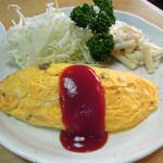 天将 - オムレツ350円