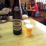天将 - 大瓶ビール600円