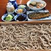 Sakubee - 料理写真:板そば1人前大盛り、ニシン、おでん
