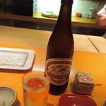 石和川 - キリンラガーで乾杯❤︎
