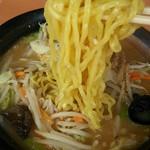 幸楽苑 - デュラムセモリナ入り麺