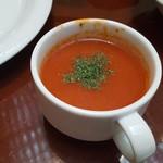 ブラッスリー ラ クラス - 冷製トマトスープ