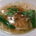 台南担仔麺 - 大満足セットの担仔麺(ダンザイミェン)