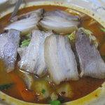 萬華城飯荘 - 五目野菜、焼豚入れの土鍋