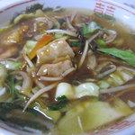 萬華城飯荘 - 五目ラーメン