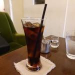 カフェ エストレア - ☆暑い日にはアイスコーヒー(*^^)v☆