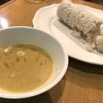 KING LION スリランカレストラン&バー - ピットゥ+1カレー