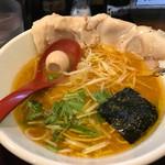 一恭 - 自家製チャーシュー麺=650円