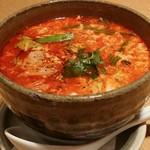 焼肉 赤牛 - カルビスープ