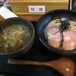 らーめんstyle JUNK STORY - 塩つけ麺並(全体)