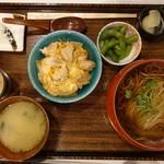 兎京 - 料理写真:ミニ親子丼セット1,404円