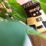 湯パークレビランド - ドリンク写真:風呂上がりの珈琲牛乳