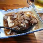 酒飯場ででででん - 肉豆腐すき焼き風