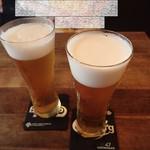 テサグリ - ビールで乾杯