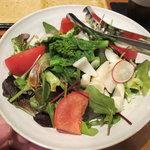 蒼天 - 百合根と菜の花のサラダ
