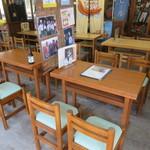 中村屋羊羹店 - テーブル席