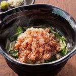 北の味紀行と地酒 北海道 - 鮭茶漬け