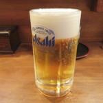 鳥よし - 生ビール