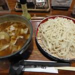 松郷庵 甚五郎 - 肉汁うどん(890円)_2017-07-02