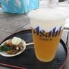角打屋 - 料理写真:ゆふいん地ビール(ヴァイツェン)