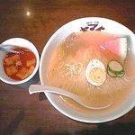 焼肉・冷麺ヤマト 盛岡本宮店 - 冷麺:390円(税込)【2017年7月撮影】