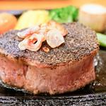 ステーキハウス バロン - 料理写真:焼き上がり