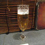6951615 - 越乃米こしひかり仕込み生ビール(飲みかけ)