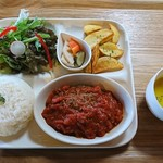 Daiju - トマトソースハンバーグプレート