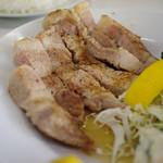 源氏食堂 - ブタ肉塩焼き