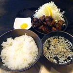 お好み焼き田よし・雫 - 250gトンテキハーフ定食