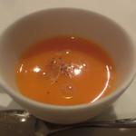69514608 - Bコース 突き出し ニンジンスープ