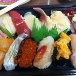 かねとも寿し - テイクアウト寿司1500円