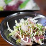 舟勝 - 炙り鰹のサラダ風
