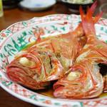 舟勝 - 金目鯛煮付け