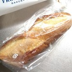 FROMENT D`OR - バゲットハーフ。