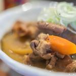 juuwarisobajirou - 豬内臟(ぶたもつ)濃湯(にこみ)