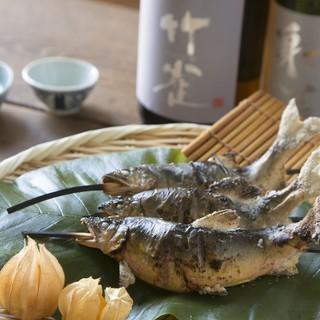 ◆お料理は岐阜の山が育てた自然食材をそろえています!