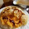 ポケットマーニー - 料理写真:インド風チキンオニオンフライ・海老フライ