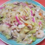 あっちゃん亭 - 料理写真:太麺皿うどんあんかけ