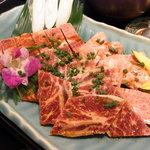 焼肉 道海山 - 上焼肉セット