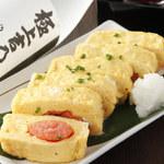 【明太出汁巻き卵 逸品料理】