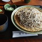 穂乃香 - 料理写真:えび天せいろ。