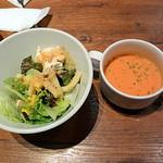 バルビダ - サラダとスープ