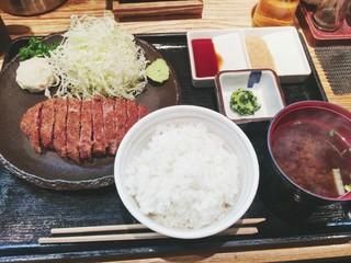 浅草 牛かつ - 牛カツ130g(1300円)