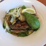 デニーズ - 料理写真:香味野菜とアボカドのハンバーグ