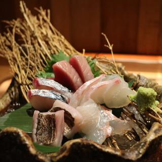 <朝獲れ地魚>予約コースで和歌山の獲れたて地魚を満喫