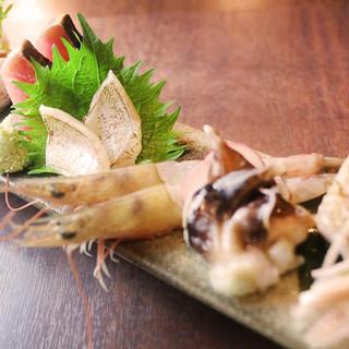 旬の日替り海鮮料理