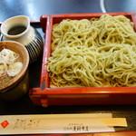 芝大門 更科布屋 - 【7月の変わりそば】笹切り蕎麦